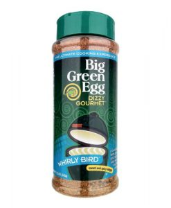 big green egg whirly bird dizzy gourmet seasoning