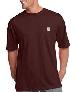 carhartt men's big & tall workwear pocket short sleeve t-shirt original fit