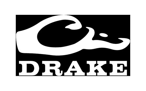 drake outdoors waterfowl window decal white