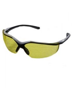 elvex corp rsg12a acer safety glasses amber lens
