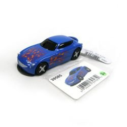 ertl 3 in fantasy vehicle 2 blue car with flames