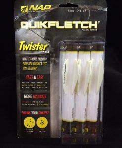 "nap quikfletch twister 2"" 6-pack"