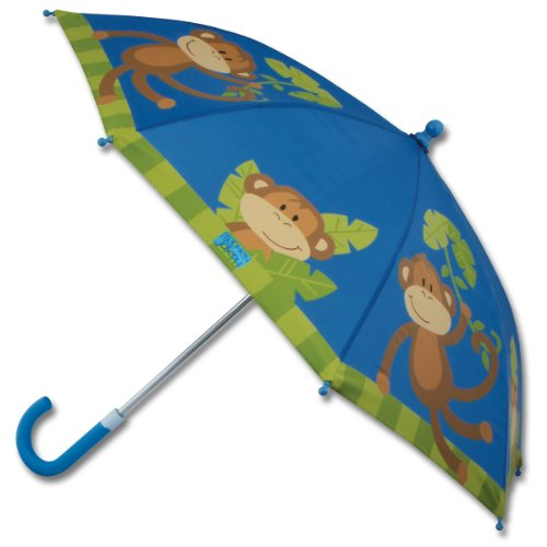 stephen joseph little boys' umbrella, monkey,