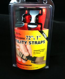 the outdoor connection multi-purpose utility straps 2 pack