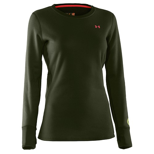 under armour women's ua treestand base crew top