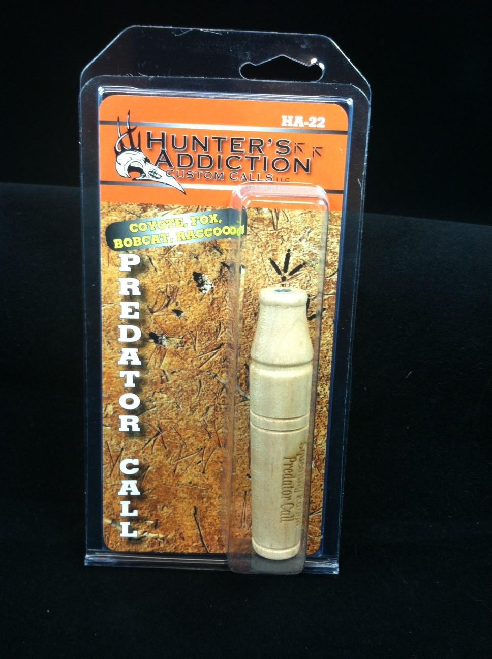 hunter's addiction predator call - premium mouth call