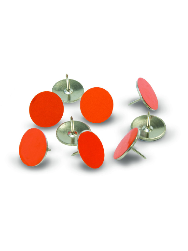 x-stand orange trail marking tacks