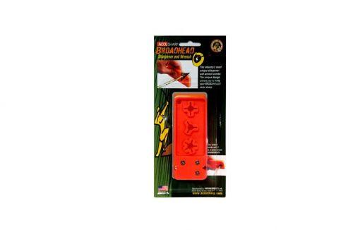 accusharp broadhead sharpener & wrench