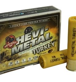 "hevi-shot hevi metal turkey 20 ga. 3"", 1, #4/6"