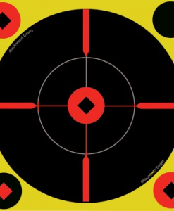 "birchwood casey shoot•n•c 8"" bull's-eye ""bmw"", 6 targets"