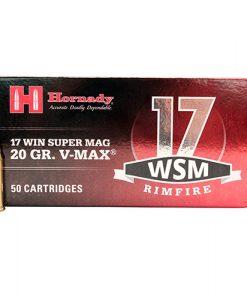 hornady 17 win super mag 20 gr v-max