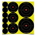 """birchwood casey shoot•n•c ass't 1"""", 2"""", 3"""" bull's-eye, targets"""