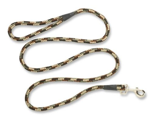 browning rope lead,brown camo,4ft.