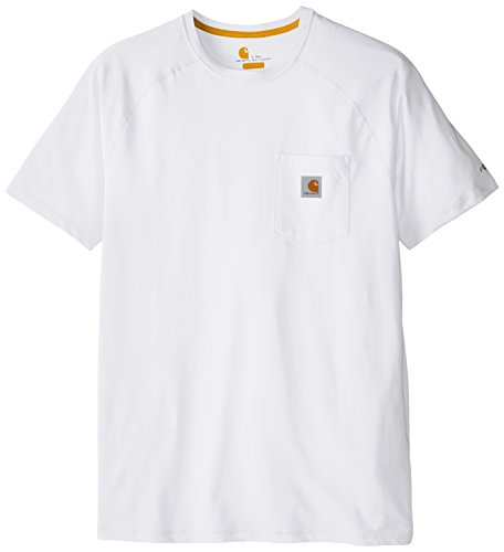 carhartt men's big-tall force cotton delmont short sleeve t-shirt relaxed fit