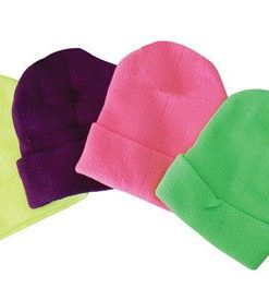 diamond visions inc neon stocking hat