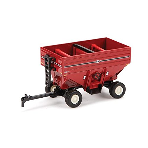 ertl toys j and m red grain wagon collect n play series