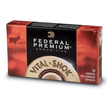 federal premium centerfire nosler ballistic tip .260 rem. 120 grain