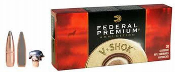federal premium vital-shok .270 win. 130 grain sierra gameking btsp
