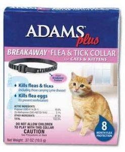 adams flea & tick collar cats & kittens