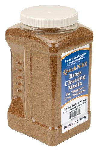 frankford arsenal 881538 arsenal brass cleaning walnut media