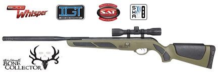 "gamo the ""bone collector"" bull whisper .177 caliber air rifle"
