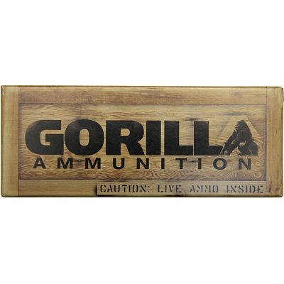 gorilla match 300 blackout, 208gr hornady a-max, subsonic