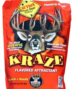 whitetail institute kraze deer attractant 5 lb.