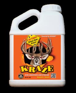 whitetail institute kraze deer attractant 64 oz.