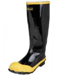 lacrosse men's 16in economy knee boot,black,