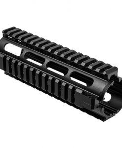 ncstar ar15 carbine length quad rail