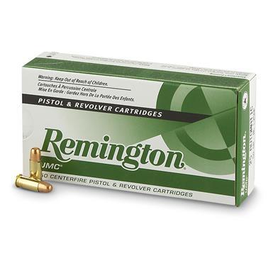 remington umc handgun .32 auto. 71 grain mc 50 rounds