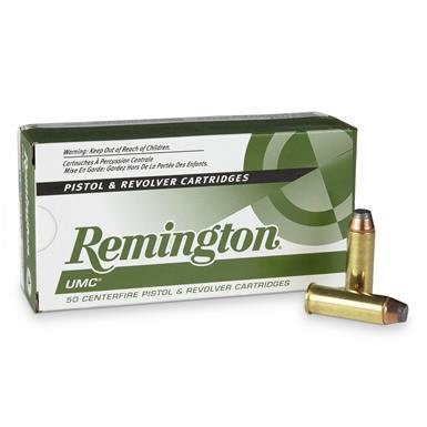 remington umc handgun .44 rem. mag 180 grain jsp 50 rounds