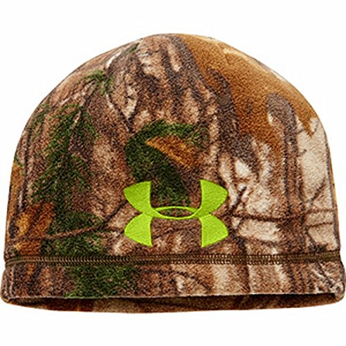 under armour boys coldgear infrared sc beanie, realtree ap-xtra, one size
