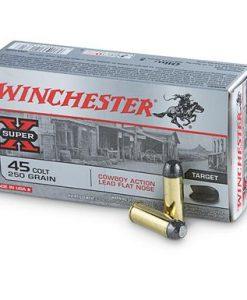 winchester cowboy loads .45 long colt 250 grain lfn 50 rounds