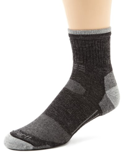 carhartt men's all-terrain quarter sock