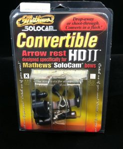 mathews solocam convertible hd ii arrow rest w/damper