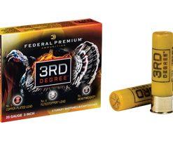 "federal premium 3rd degree 20 gauge, 3"" ,1-7/16 oz, 5-6-7 shot mix"