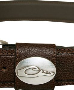 drake men's leather belt