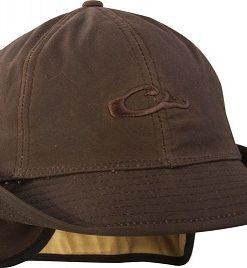 drake waxed cotton jones hat