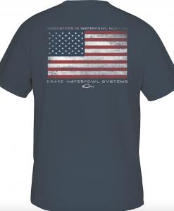 drake american flag t-shirt s/s