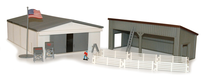 ertl 1/64 machine shed set