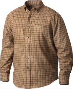 drake men's autumn brushed twill shirt