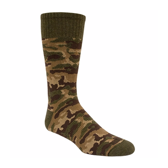 carhartt boy's camouflage crew sock