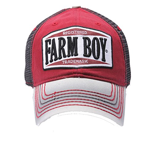 farm boy cycle shop mesh cap