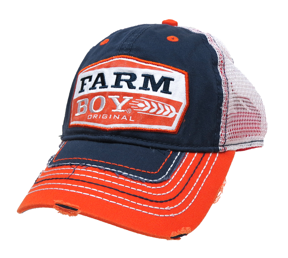 farm boy original mesh back trucker hat