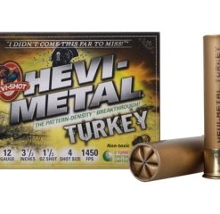 "hevi-shot hevi metal turkey 12 ga., 3-1/2"" , 1-1/2, #4"