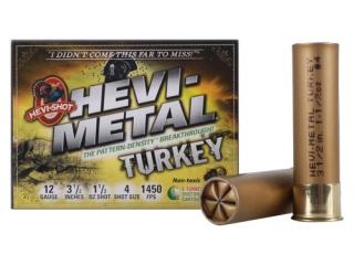 "hevi-shot hevi metal turkey 12 ga., 3-1/2"" , 1-1/2, #4"