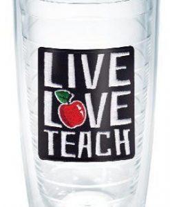 tervis live love teach 16 oz. tumbler