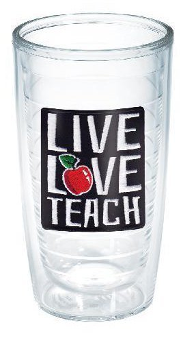 tervis live love teach 16 oz. tumbler
