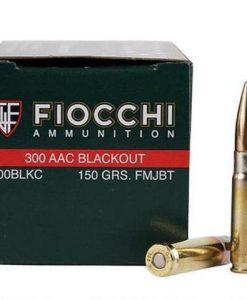 fiocchi 300 blackout 150 gr. 50ct